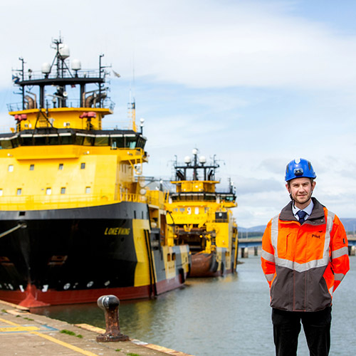 Montrose Port Authority –Angus MacAulay